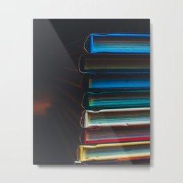 Book Worm Metal Print
