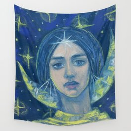 Hecate / Goddess of the Moon Wall Tapestry