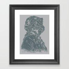 Wolf Amadeus Mozart Framed Art Print