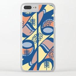 alas de mariposa Clear iPhone Case