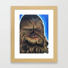 Fuzzball Framed Art Print