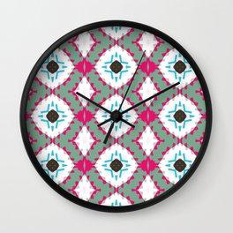 Colour Strips Wall Clock