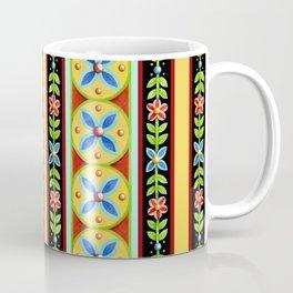 Elizabethan Folkloric Stripe Coffee Mug