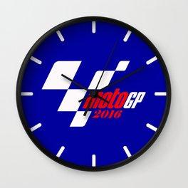 motoGP best logo 2016 Wall Clock