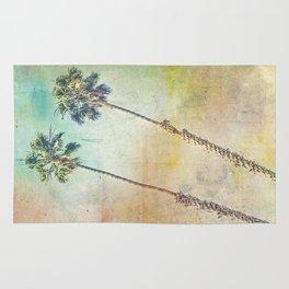 Pastel Palms Rug