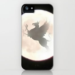 Gryphon Moon iPhone Case