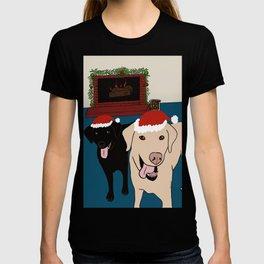Labs Love Christmas! T-shirt
