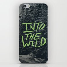 Into the Wild: Lost Lake iPhone & iPod Skin
