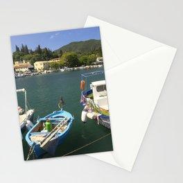 Fishing boats at Ipsos Stationery Cards