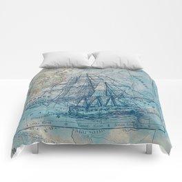 Clipper Ship Comforters