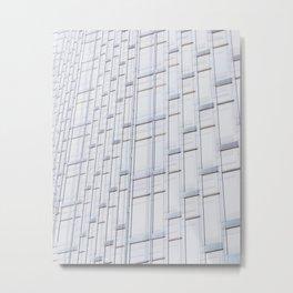 architecture pattens Metal Print