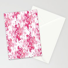 Pink Fantasy Digital Painting Stationery Cards