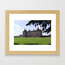 Houghton Hall, English Stately Home Framed Art Print