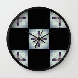 Notre Dame Cross Wall Clock
