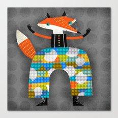HAPPY PANTS Canvas Print