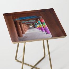 IAIA Museum Porch Santa Fe NM Side Table