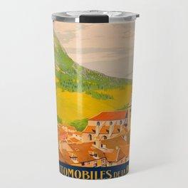 Vintage poster - Route du Jura, France Travel Mug