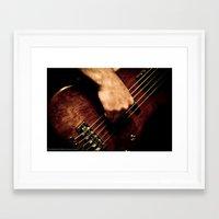 bass Framed Art Prints featuring BASS  by Vishesh