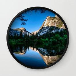Mirrored Beauty Wall Clock