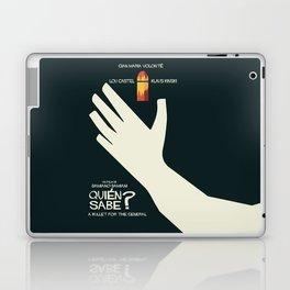 Quién sabe? Movie poster with Klaus Kinski, Gian Maria Volonté, Lou Castel, by Damiano Damiani Laptop & iPad Skin