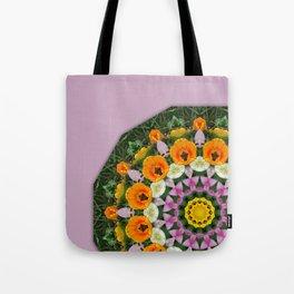 Tulips Nature, Flower-Mandala Tote Bag