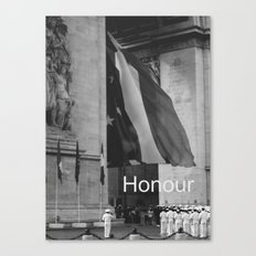 Honour Canvas Print