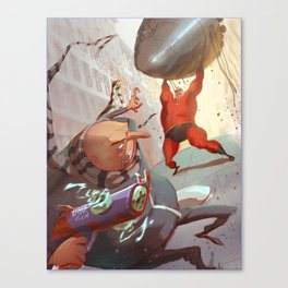 There Goes the Neighborhood Canvas Print