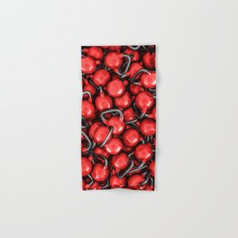 Kettlebells RED Hand & Bath Towel
