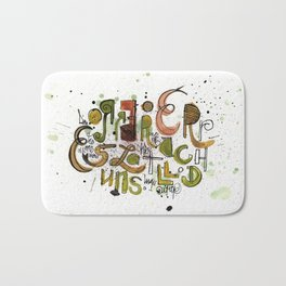 Type cluster Bath Mat