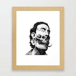 Avida Dollars Framed Art Print