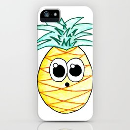 The Suprised Pineapple iPhone Case