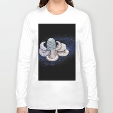 Space station from the fantastic world of the future Long Sleeve T-shirt
