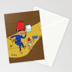 Worm Alert Stationery Cards