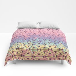 Holographic Candy Geometric Comforters
