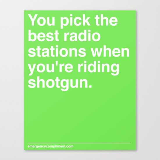 Best Radio Stations Canvas Print