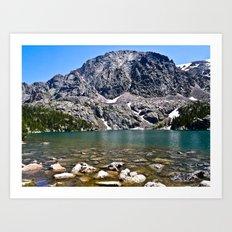 Phantom Lake Art Print