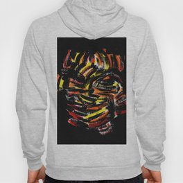 The Devil Painting Acrylic on Paper Hoody