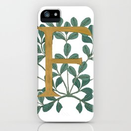 Forest Letter F Lite 2020 iPhone Case