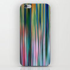 Colored Bamboo Abstract iPhone & iPod Skin