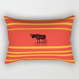 bullfighting corrida Rectangular Pillow