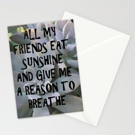 Plants for Friends Stationery Cards