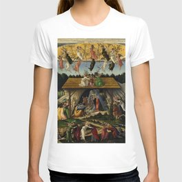 "Sandro Botticelli ""The Mystical Nativity"" T-shirt"