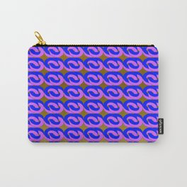 Modius Loop Blue/Lavender on Gold Carry-All Pouch