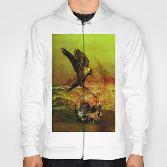 The crow of Egyptian plains Hoody