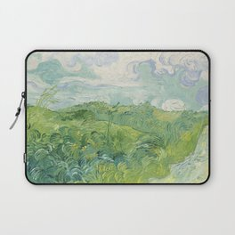 Vincent van Gogh Green Wheat Fields, Auvers 1890 Painting Laptop Sleeve