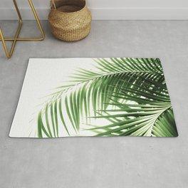 Palm Leaves Green Vibes #9 #tropical #decor #art #society6 Rug