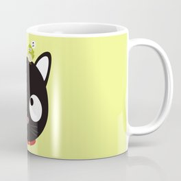 Bird and Cat best Friends T-Shirt Dh5ik Coffee Mug