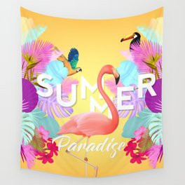 Summer Paradise Wall Tapestry