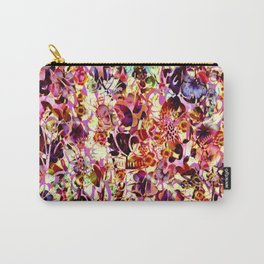 joyful abstract floral Carry-All Pouch
