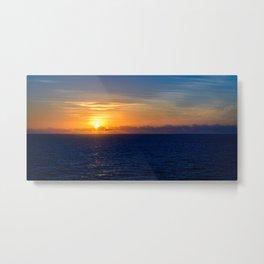 Sunset over the Timor Sea Metal Print